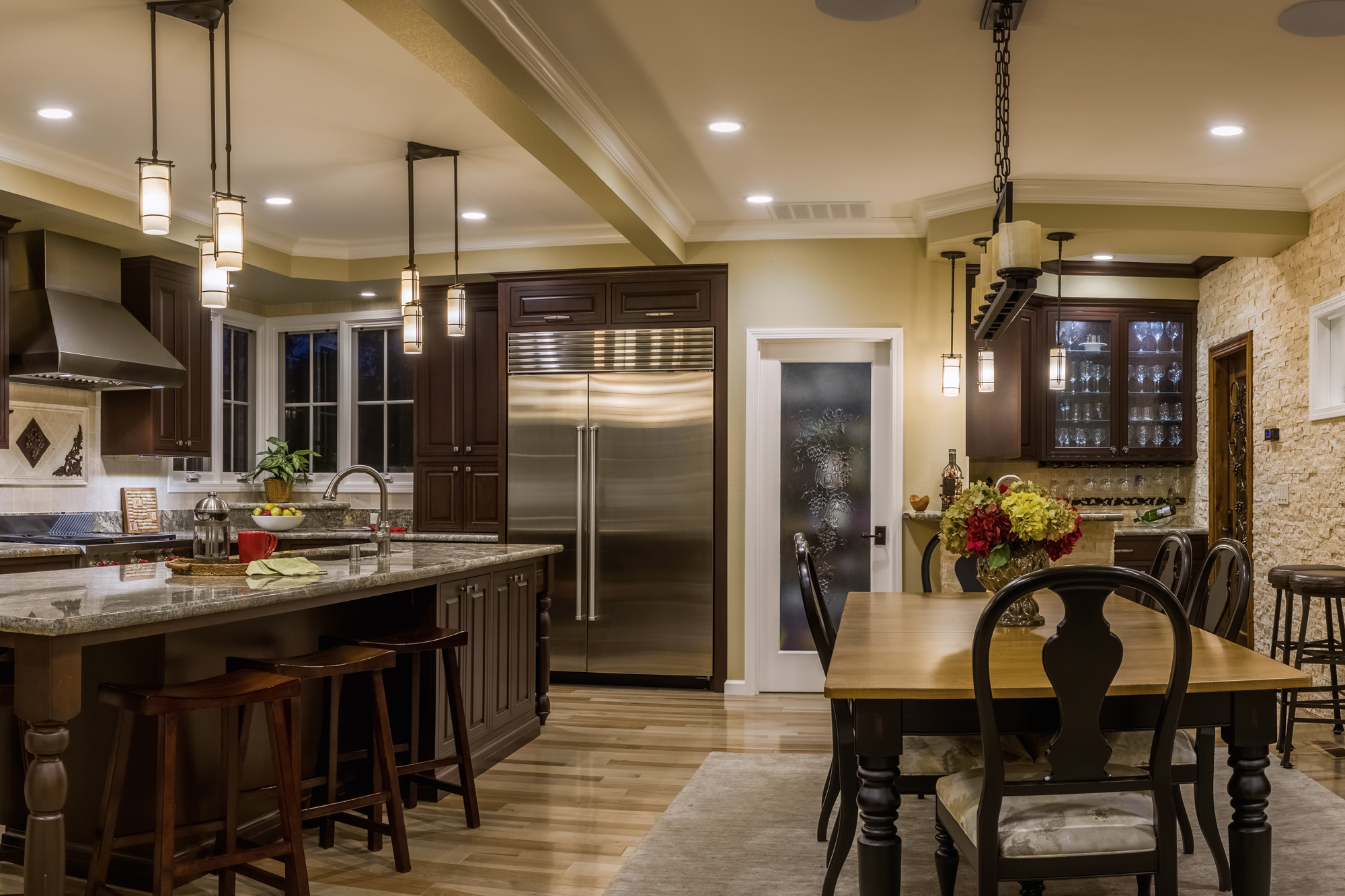 Italian Kitchen Addition Remodel Saratoga