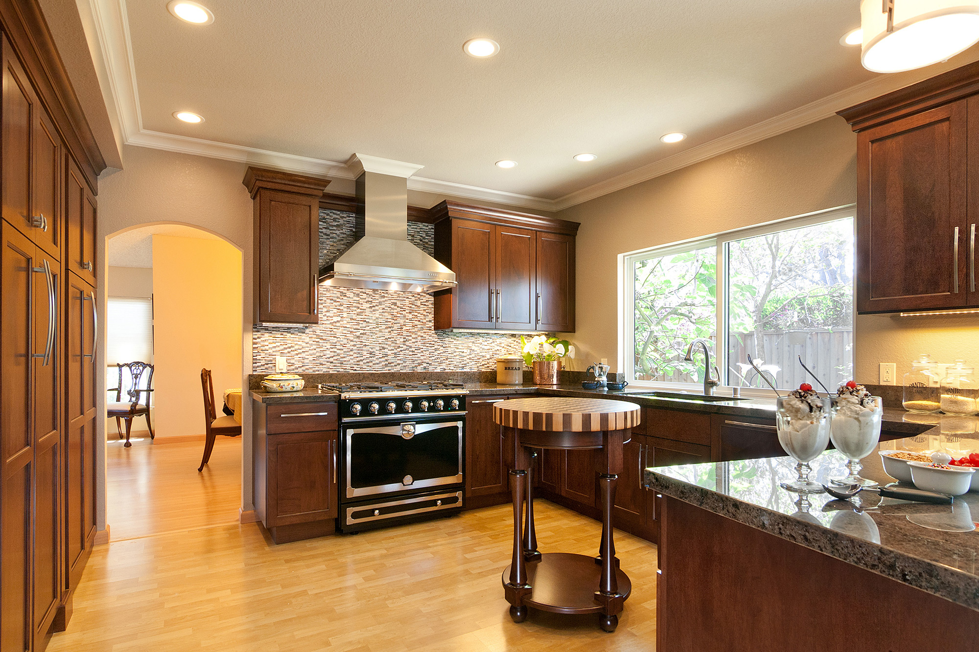 Transition Style Kitchen Remodel Foster City