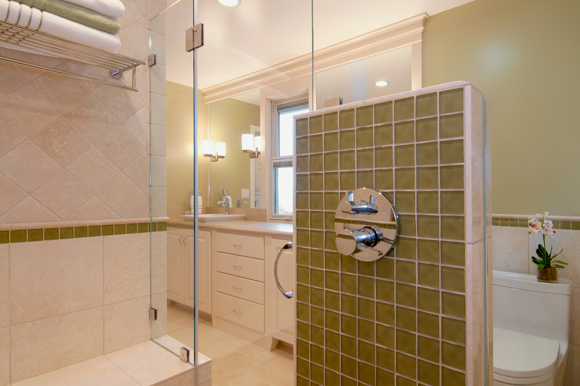 Two Bathroom Remodels Los Gatos