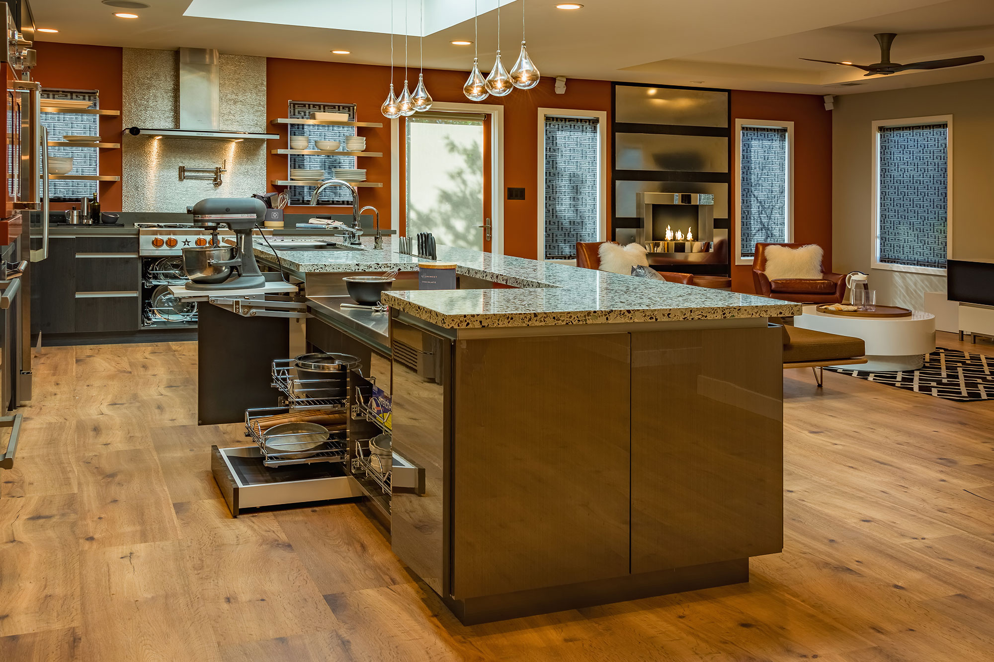 RemodelWest Professional Contemporary Kitchen Remodel Silicon Valley