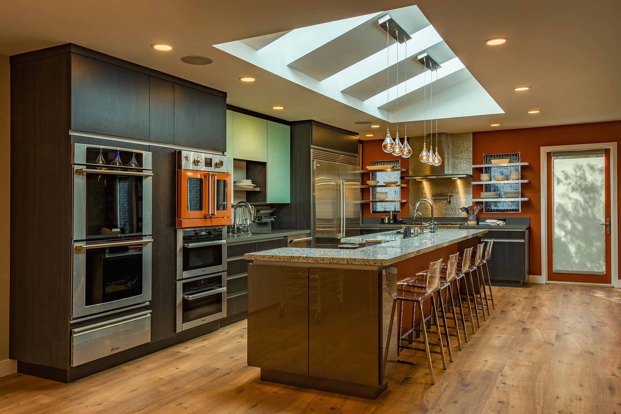 Italian Kitchen Addition Remodel Los Altos