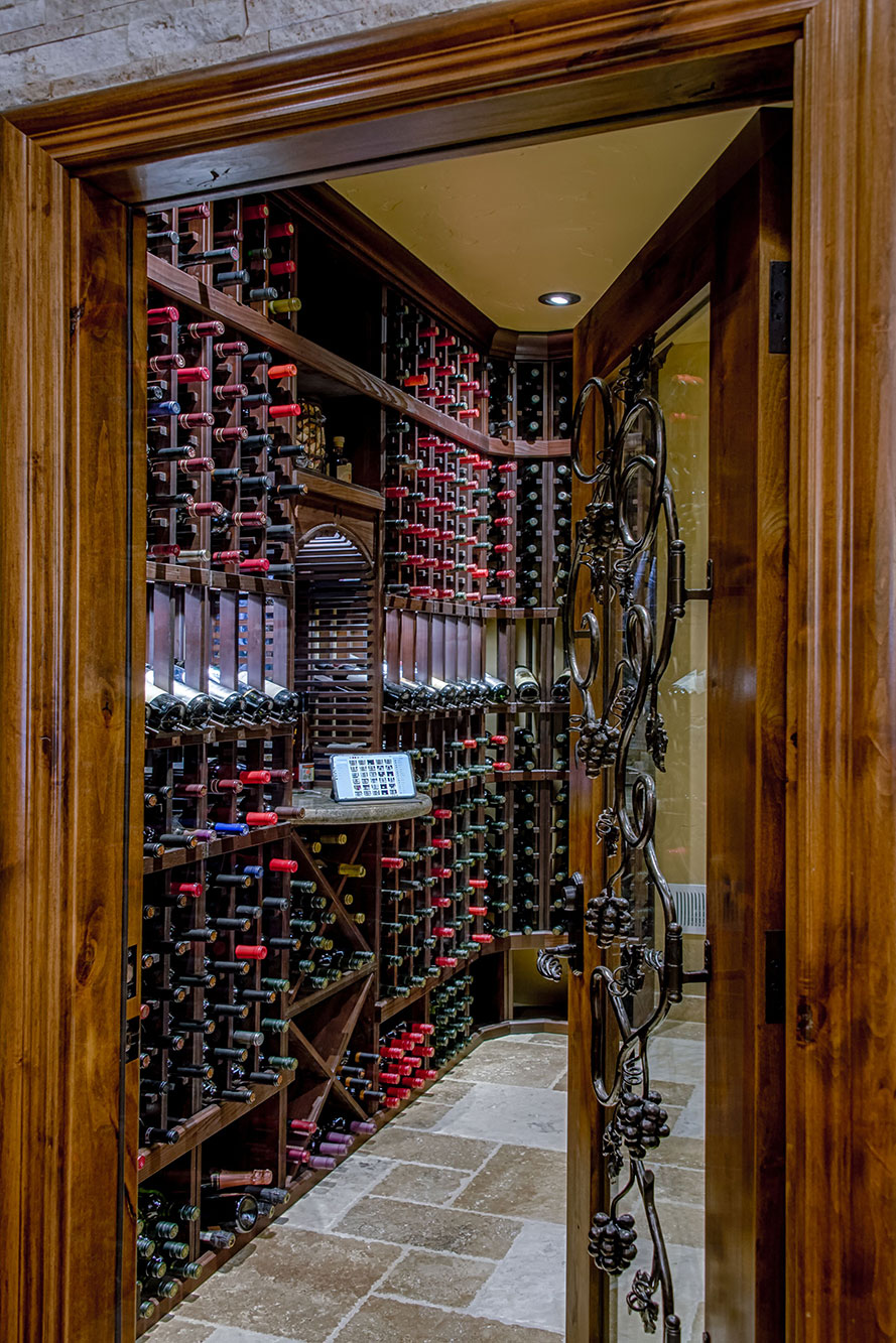 Wine Cellar Design Saratoga