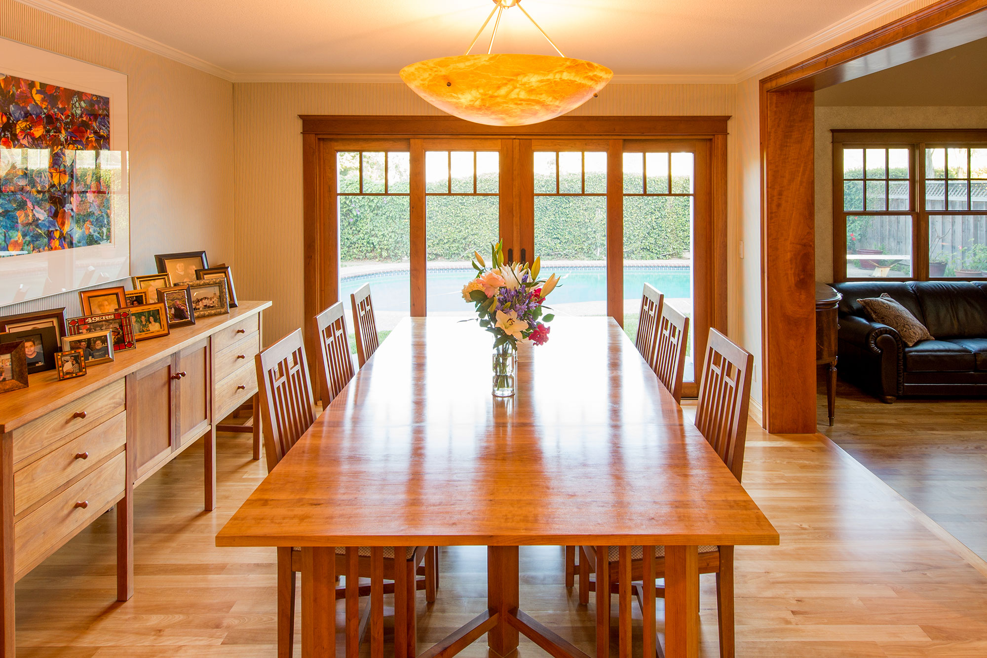 Traditional Custom Home Remodel Mountain View