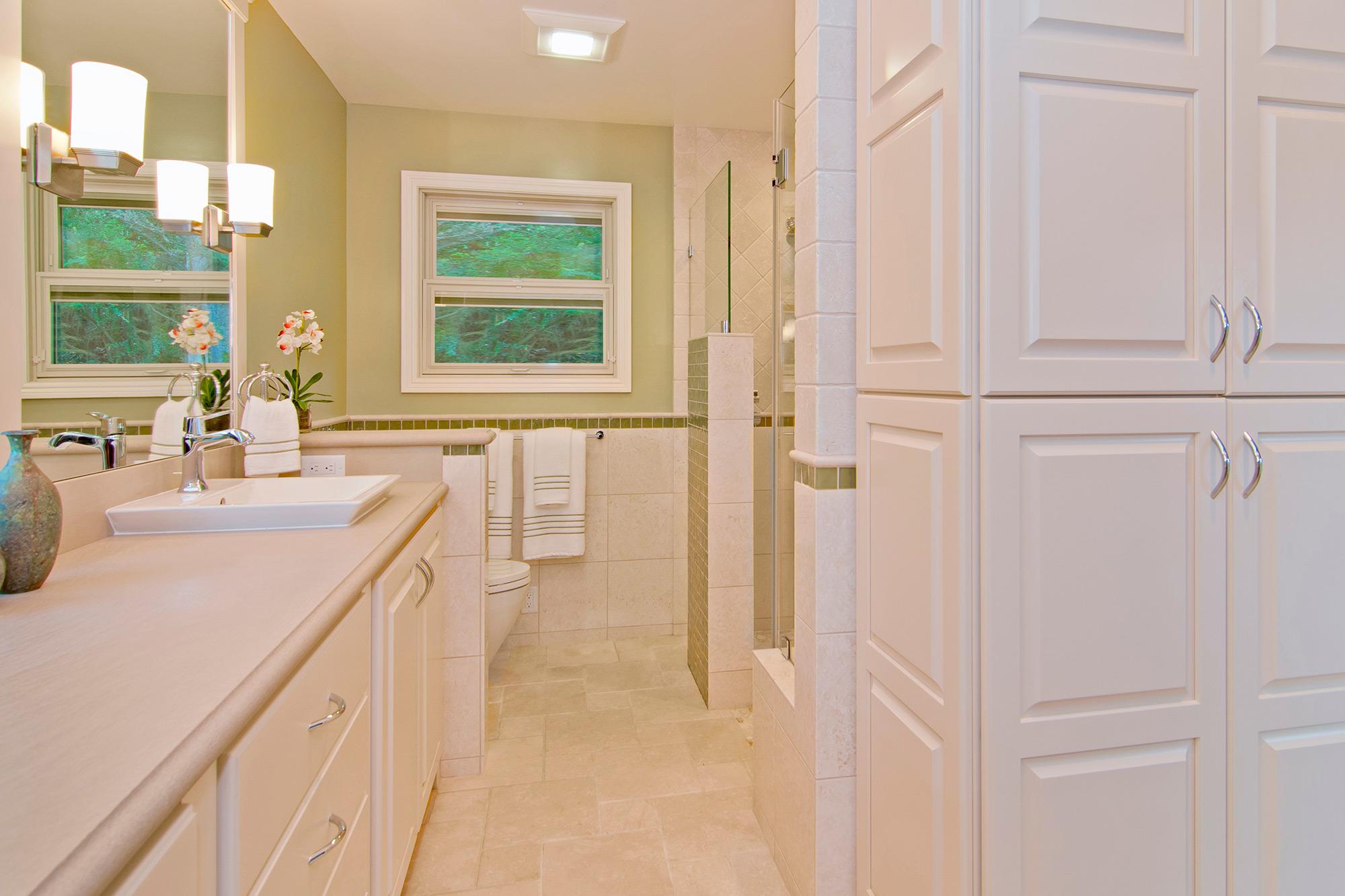 Two Bathroom Remodels Los Gatos
