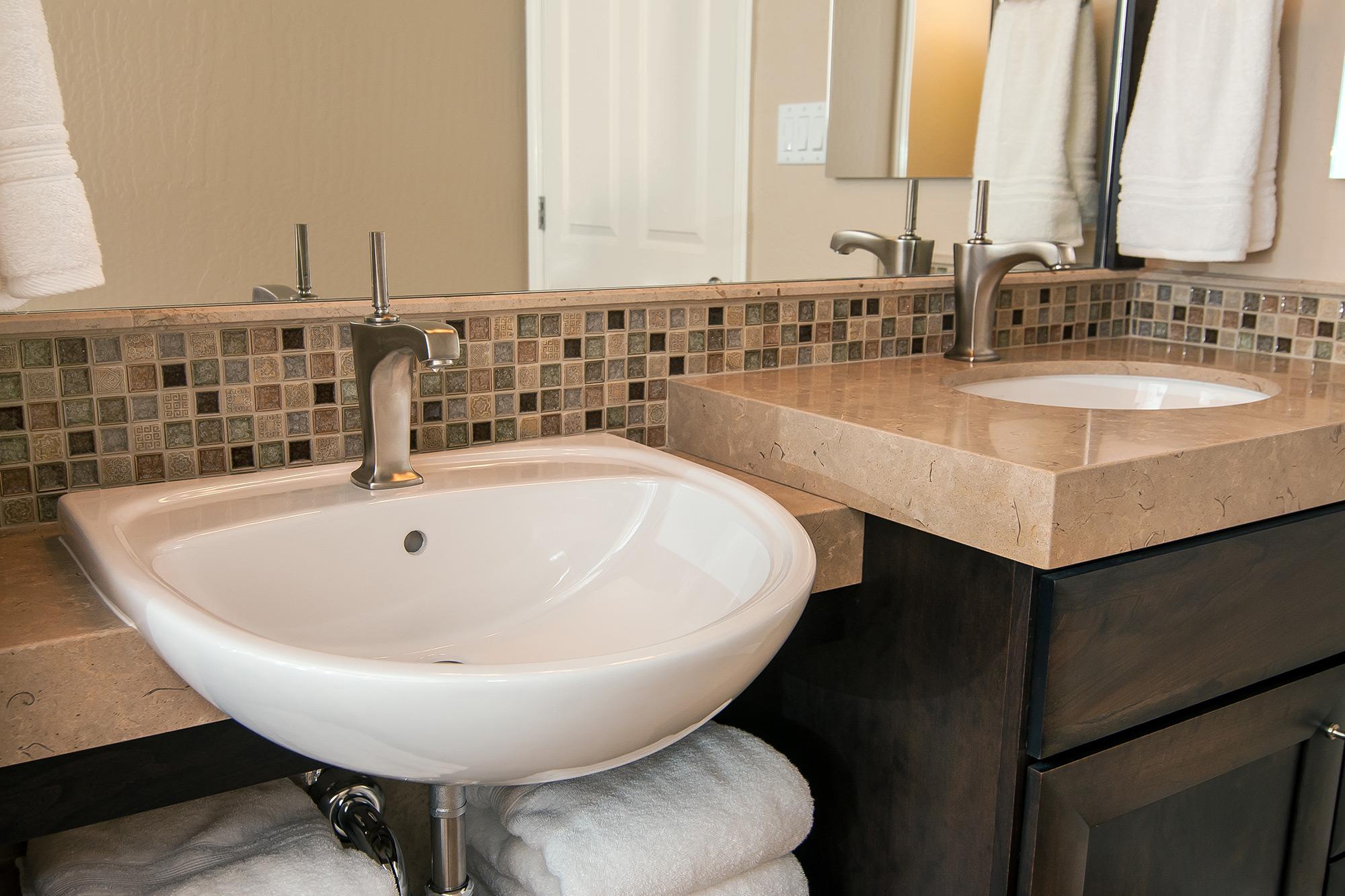 Universal Handicap Access Bathroom Los Altos