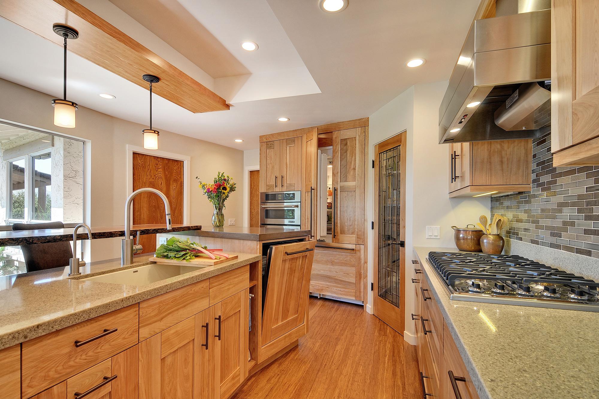Gallery Warm Natural Kitchen Saratoga